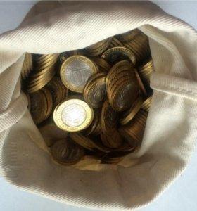 Юбилейная монета 10 руб, 2011, Воронежская область