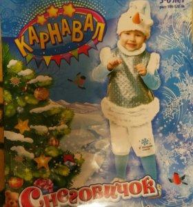 """Карнавальный костюм """"Снеговик"""""""
