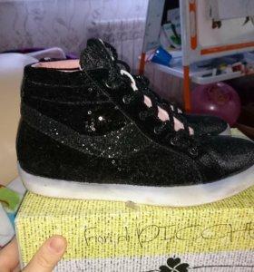 Кеды, обувь женская, пайетки бу, Италия 🇮🇹