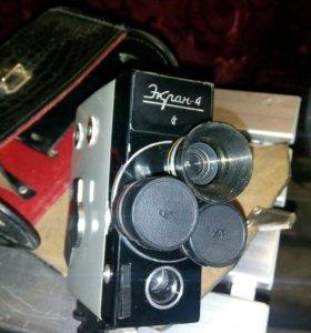 """Кинокамера """" Экран-4 """" 1968г.в."""