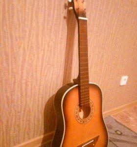 классическая гитара + чехол(отдельно)