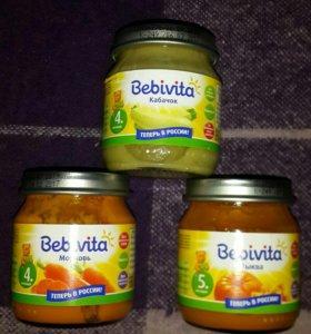 Детское пюре «Bebivita»