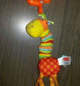 Игрушка подвесная Жирафик