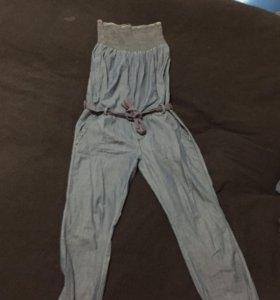 Комбинезон джинсовый женский bershka