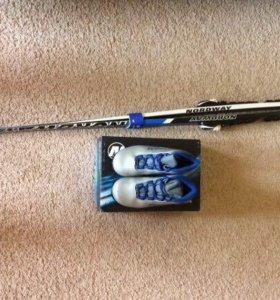 Лыжи детские 160 см