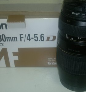 Canon EOS1100D+Zoom-телеобъектив Tamron AF70-300mm