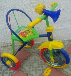 Новые велосипеды.
