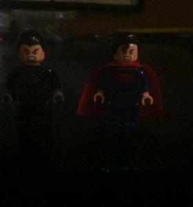 Набор LEGO по Супермен <<человек из стали>>