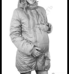 """Куртка для беременных и слингоношения """"Монреаль"""""""