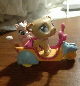 Мопед и мотоцикл игрушки