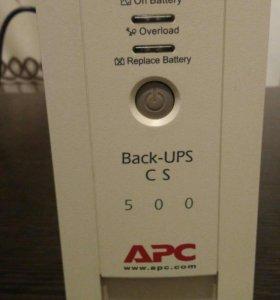 ИБП APC Back-Up CS 500VA [BK500-RS]