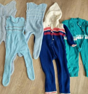 Ползунки штаны комбинезоны вещи на мальчика 1-2год