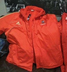 Куртка+штаны зима Adidas 3xl-62-64р.