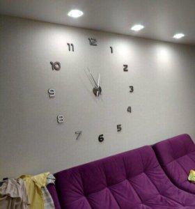 Огромные настенные часы - новые