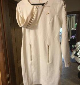Продам платье. Срочно. Р.48-50. Новое. Белое.
