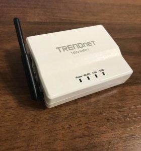Принт-сервер TRENDnet TEW-MFP1