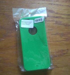 Кейс силиконовый для iPhone 5, 5s, SE
