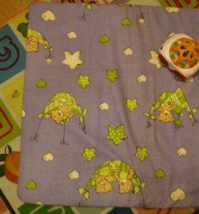 Детский матрасик на пеленальный столик