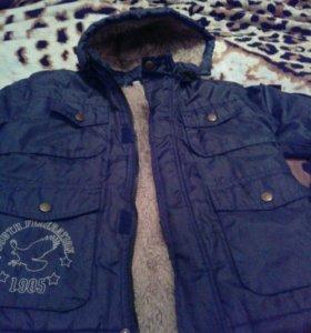 Детская Зимния куртка для мальчика ,115-117 см