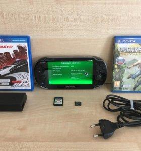 Sony PlayStation Vita 16GB + игры