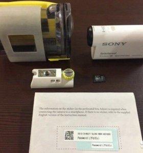 Экшен камера Sony hdr as100v