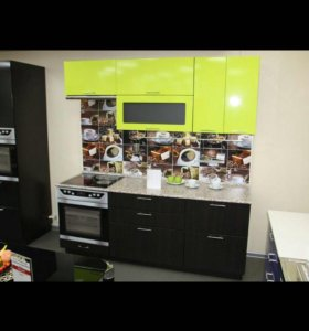 Кухня мдф лайм/венге