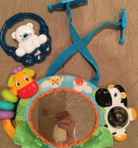 Развивающие игрушки FisherPrice, BrightStarts