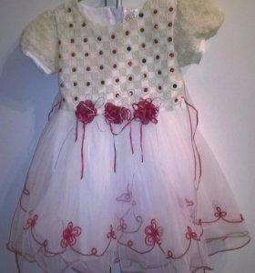 Платье на рост 92-98 см