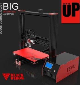3D принтер. tevo black widow Большой Собранный. От