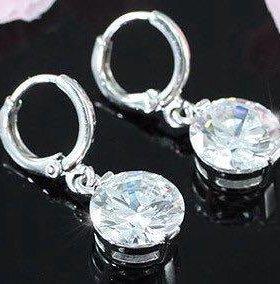 Серьги, кристаллы Swarovski