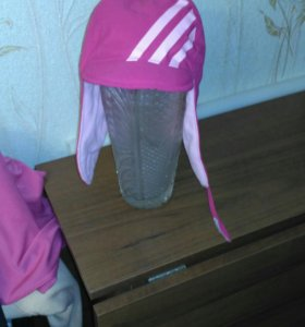 Шапка на девочку 2-х лет Adidas