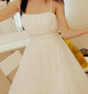 Платье s m