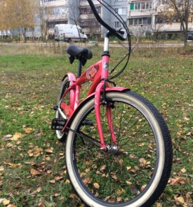 Велосипед с планетарной трёх скоростной втулкой