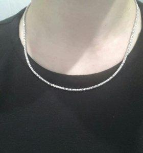 Цепочка серебро 45 см