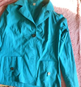 пиджак бирюзовый