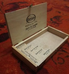Коробка от сигар Ortega
