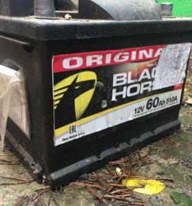 Black horse аккумулятор