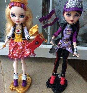 Куклы Ever After High Рейвен и Эппл