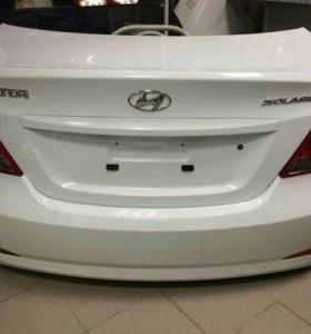 Задняя крышка багажника Hyundai Solaris