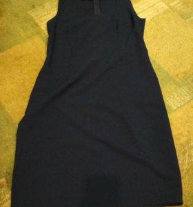 Платье класическое с накидкой