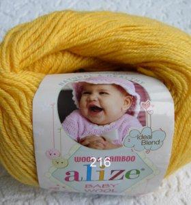 Пряжа Alize BABY WOOL