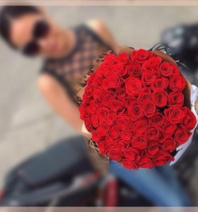 Букет Роза 101 штука