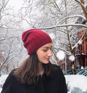 стильная шапка