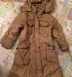 Пальто детское балоневое 98-110 см