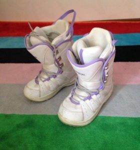 Сноуборд ботинки 37