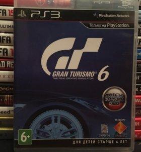 Grand Turismo 6 (PS3)