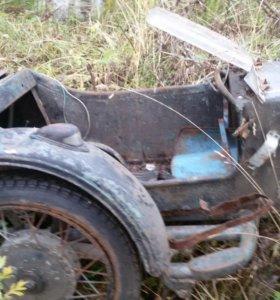 Коляска для тяжелого мотоцикла