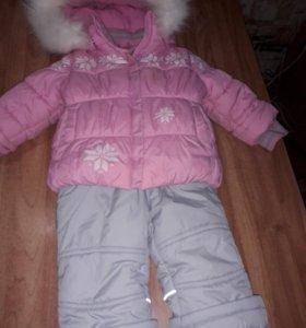 Зимний комбинезон+ куртка