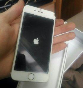 Iphone 6 горит только яблоко