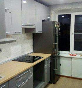 Ремонт кухни, квартиры.